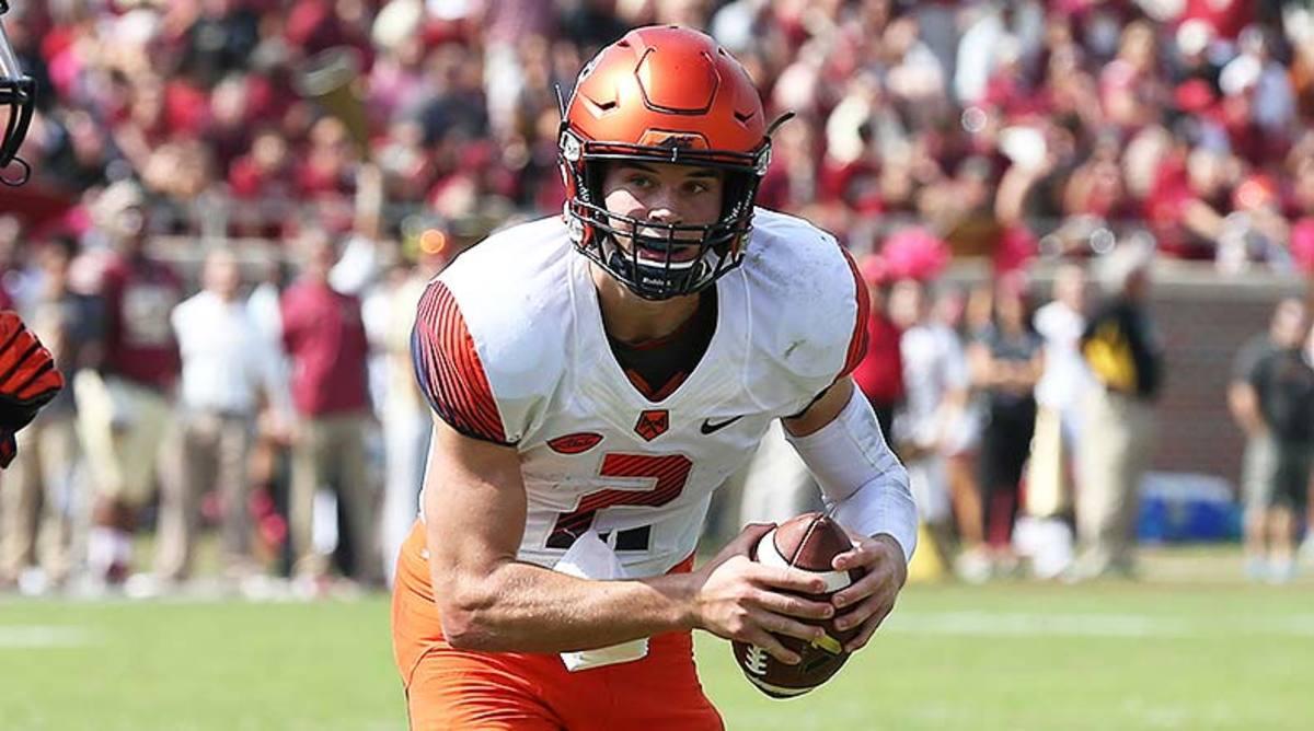 Syracuse Orange QB Eric Dungey
