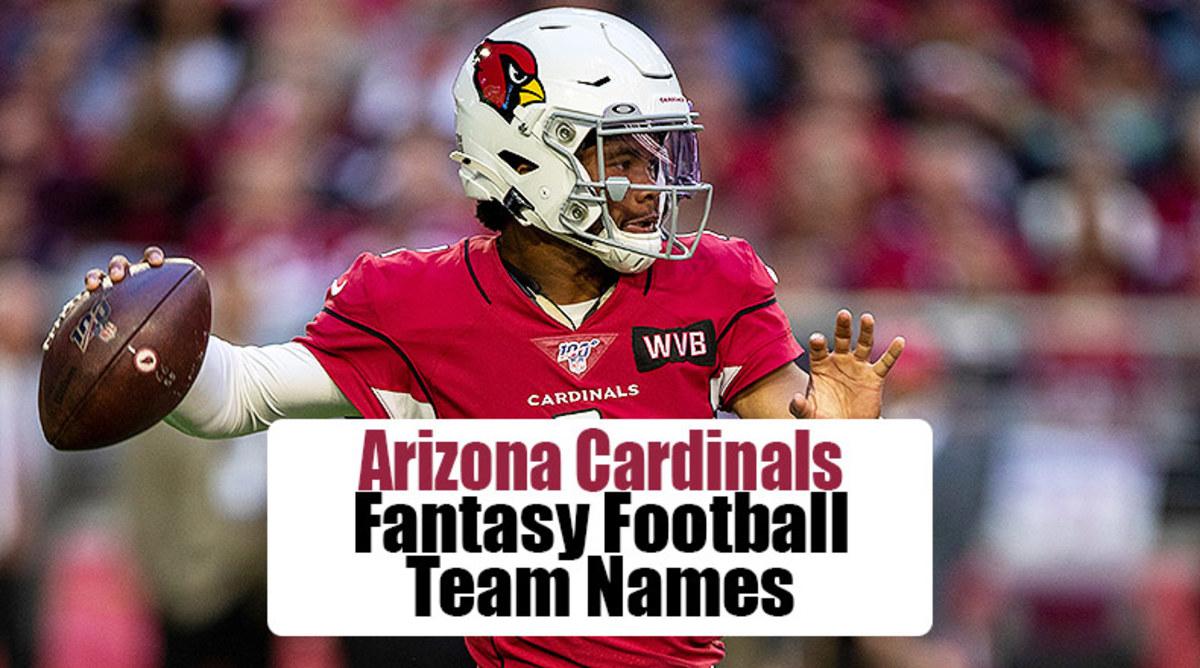 Arizona Cardinals Fantasy Football Team Names