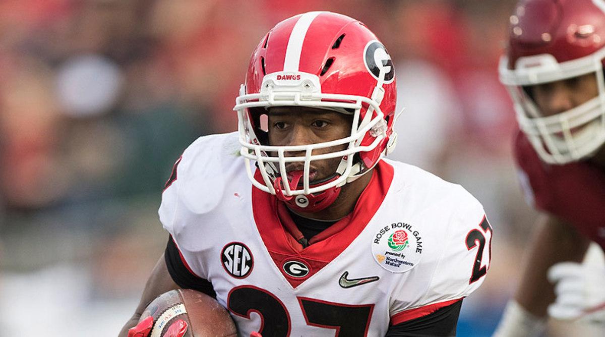 Nick Chubb, Georgia Bulldogs Football