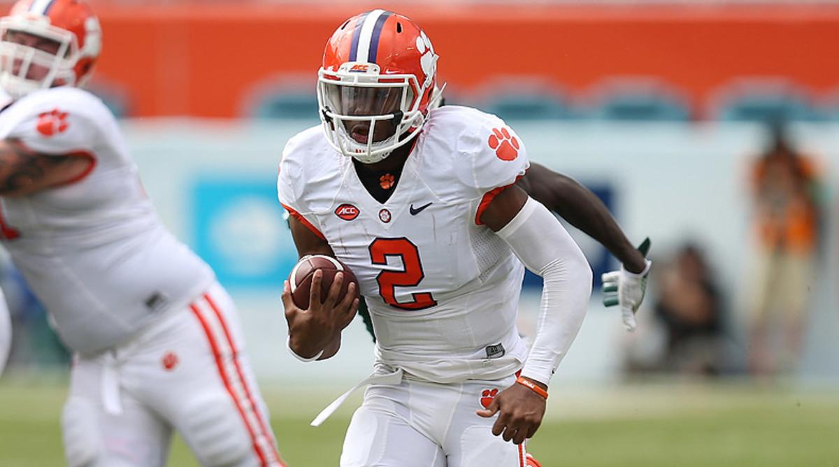 College Football Picks: Kelly Bryant, Clemson Tigers Football