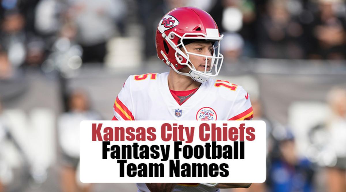 Kansas City Chiefs Fantasy Football Team Names