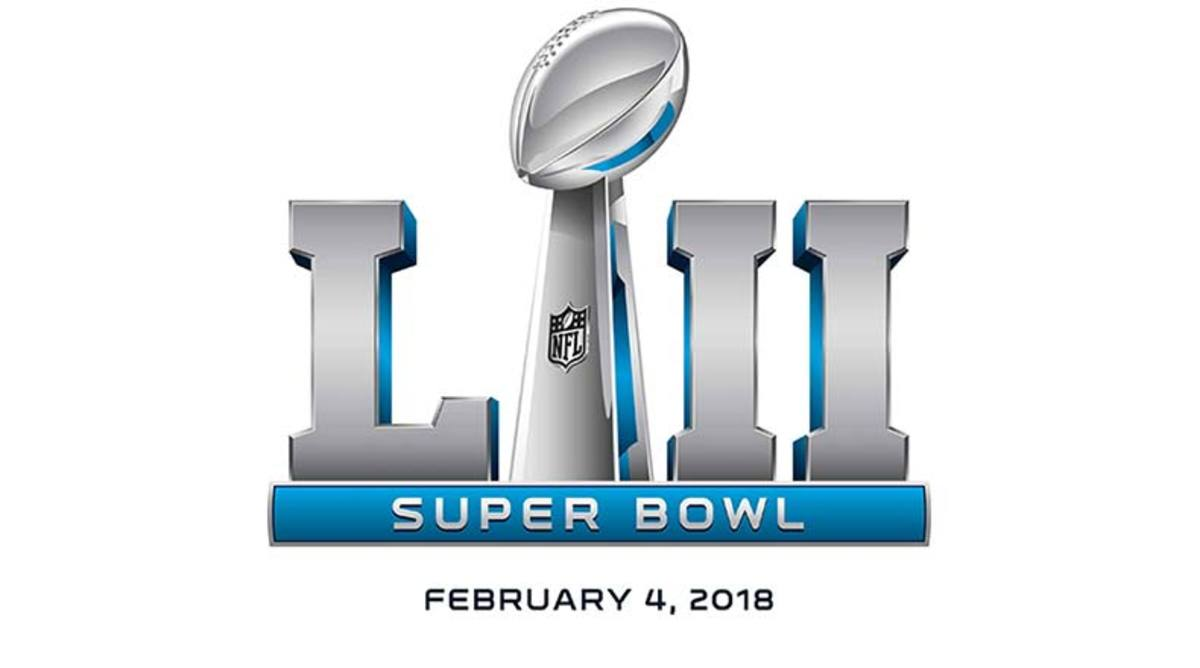 Time for Super Bowl 52 on Feb. 4, 2018