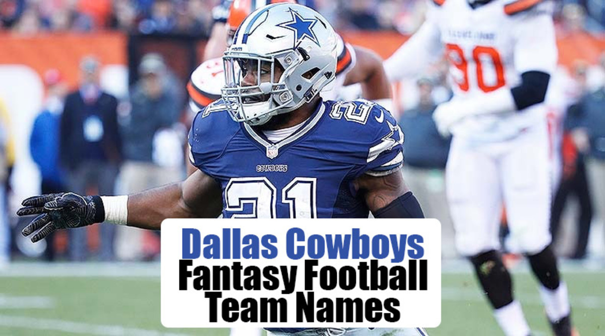 Dallas Cowboys Fantasy Football Team Names