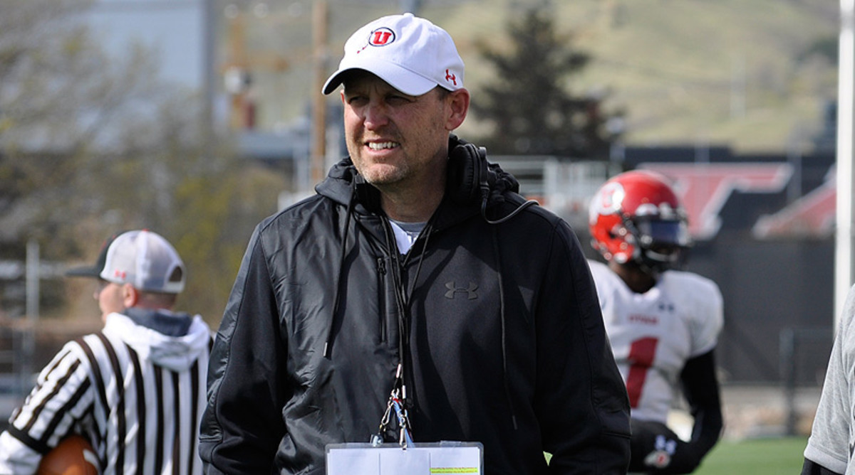 Troy Taylor, Utah Utes Football