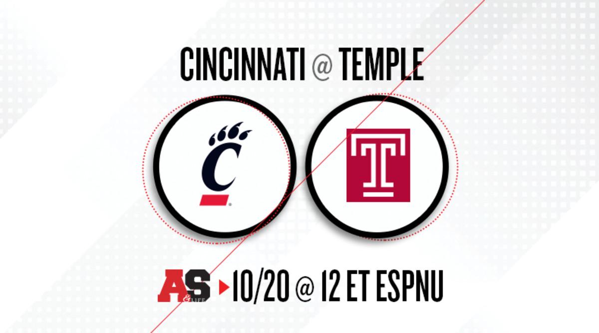 Cincinnati Bearcats vs. Temple Owls Prediction and Preview