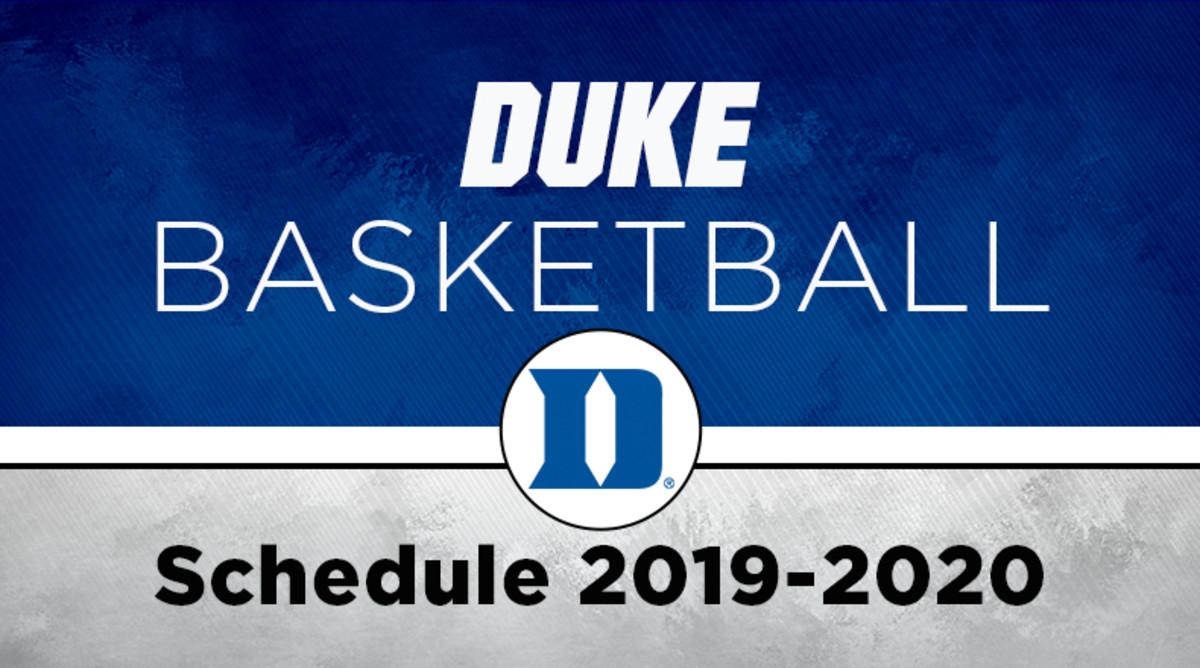 Duke Basketball Schedule