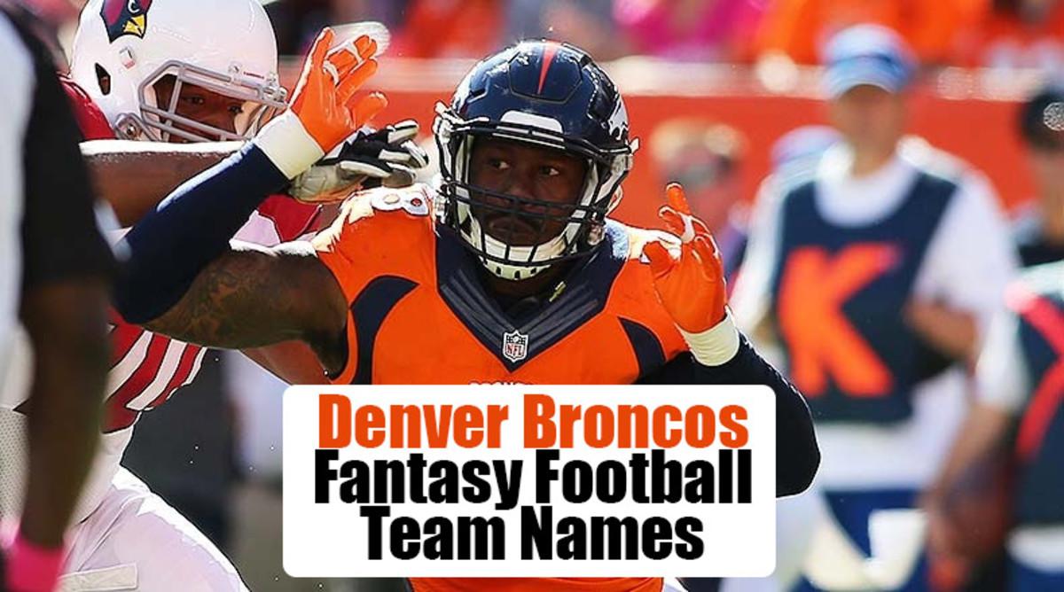 Denver Broncos Fantasy Football Team Names