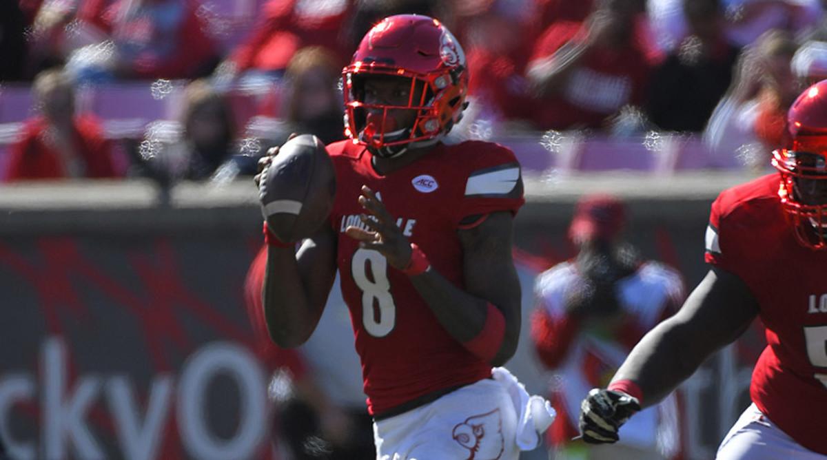Lamar Jackson, Louisville Cardinals Football