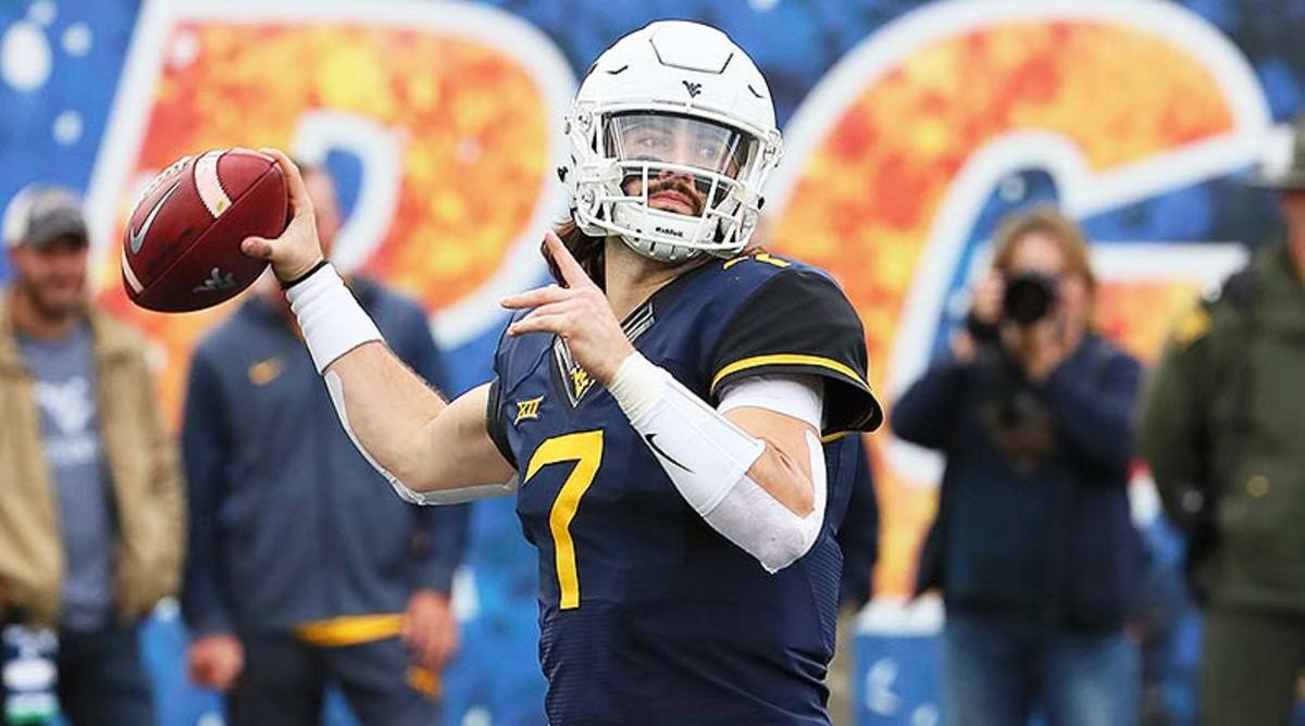West Virginia Mountaineers QB Will Grier