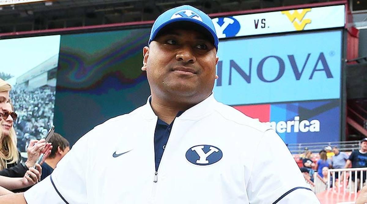 BYU Cougars head coach Kalani Sitake