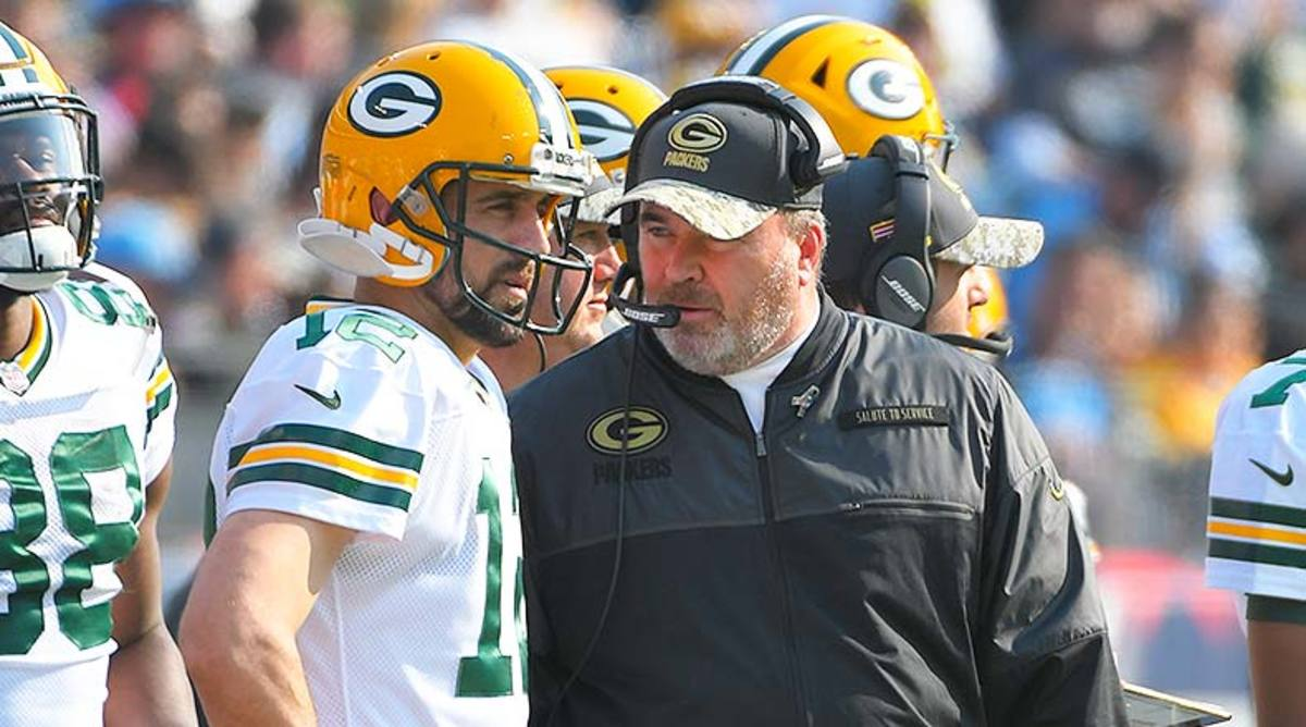 Aaron Rodgers and Mike McCarthy