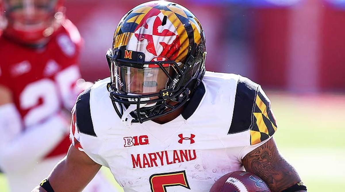 Maryland Terrapins RB Ty Johnson