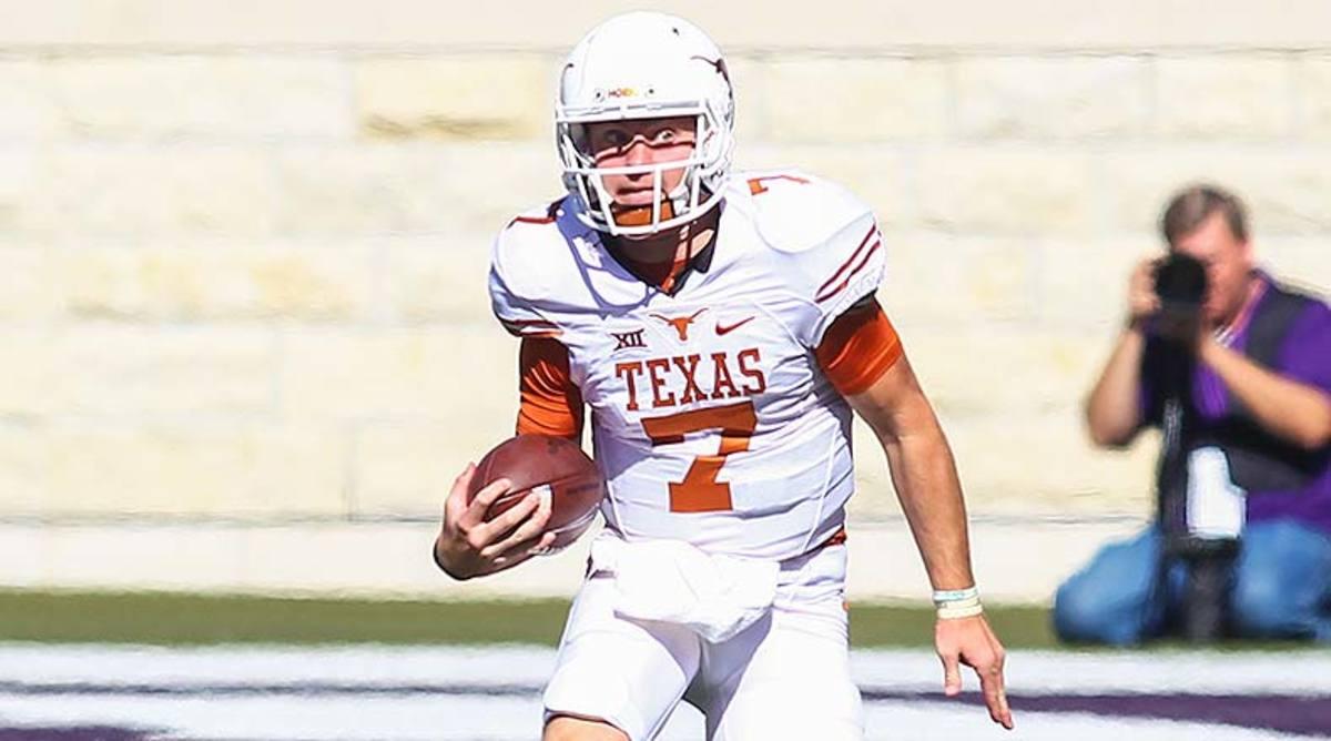 Shane Buechele, Texas Football