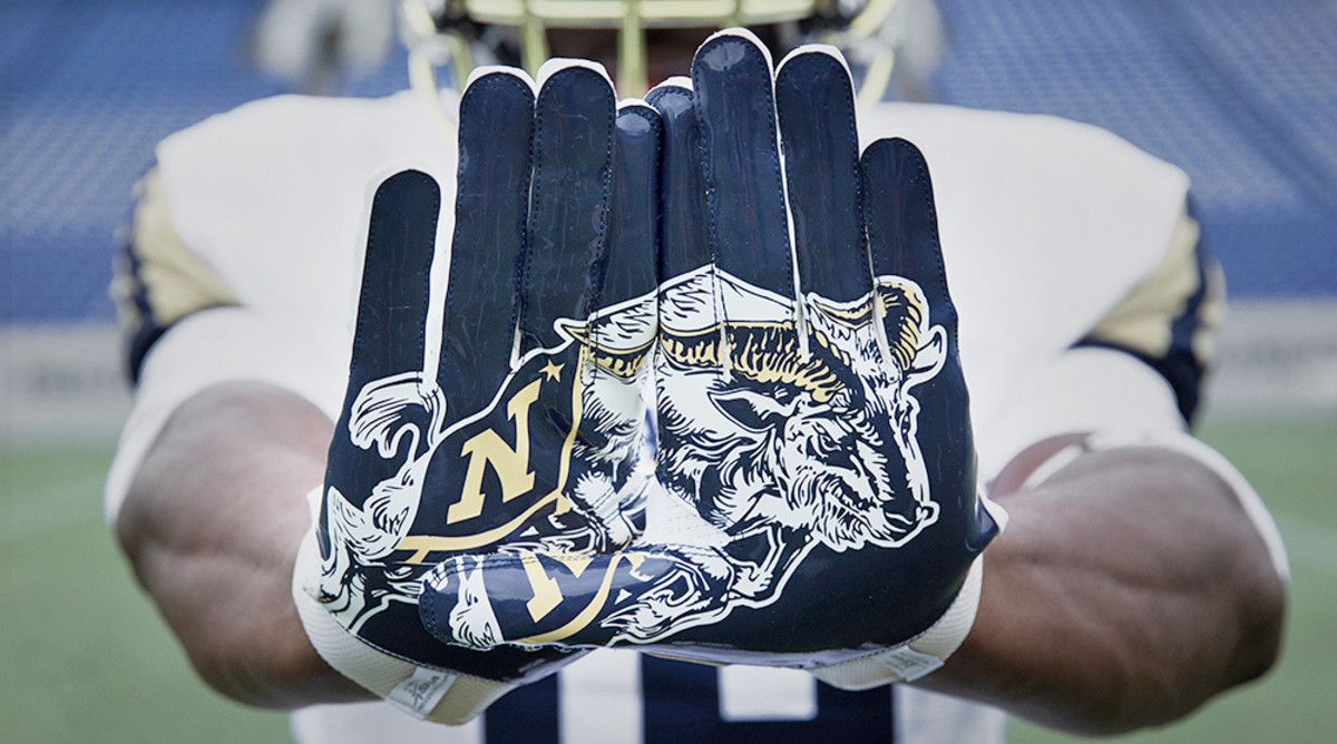 Navy Football: Midshipmen Honor 125th Anniversary of Bill the Goat With Mascot-Inspired Uniforms