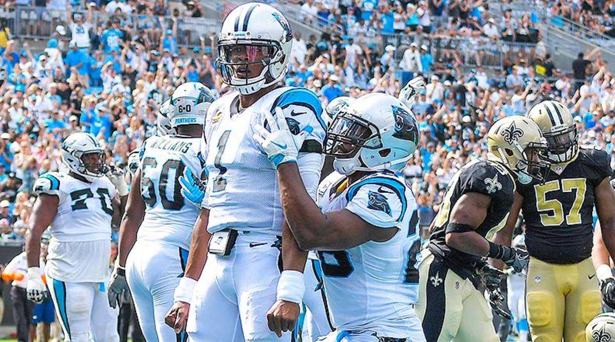 DraftKings and FanDuel Best Lineups for Week 9 NFL Daily Fantasy Football: Cam Newton