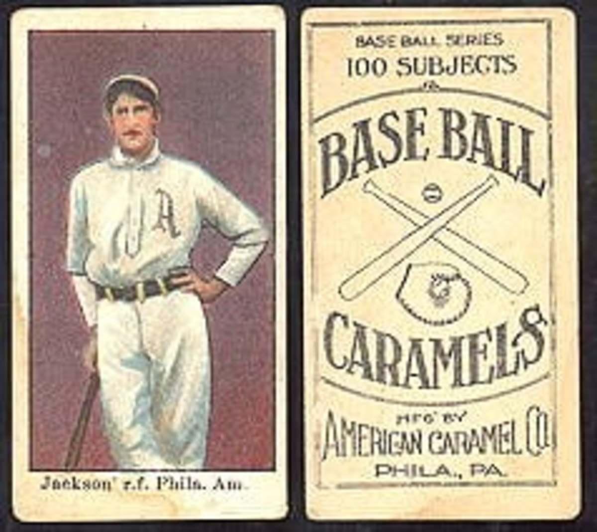 Most Valuable Baseball Cards: Joe Jackson