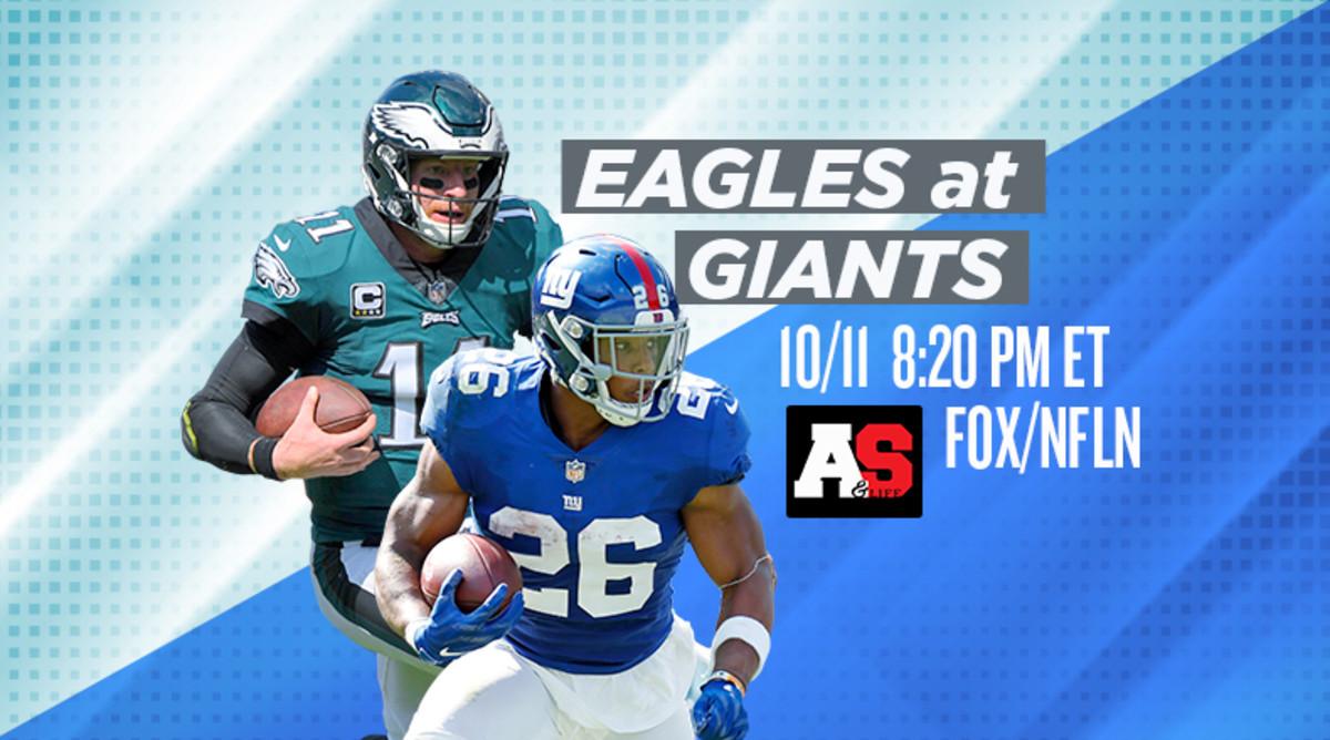Thursday Night Football: Philadelphia Eagles vs. New York Giants Prediction and Preview