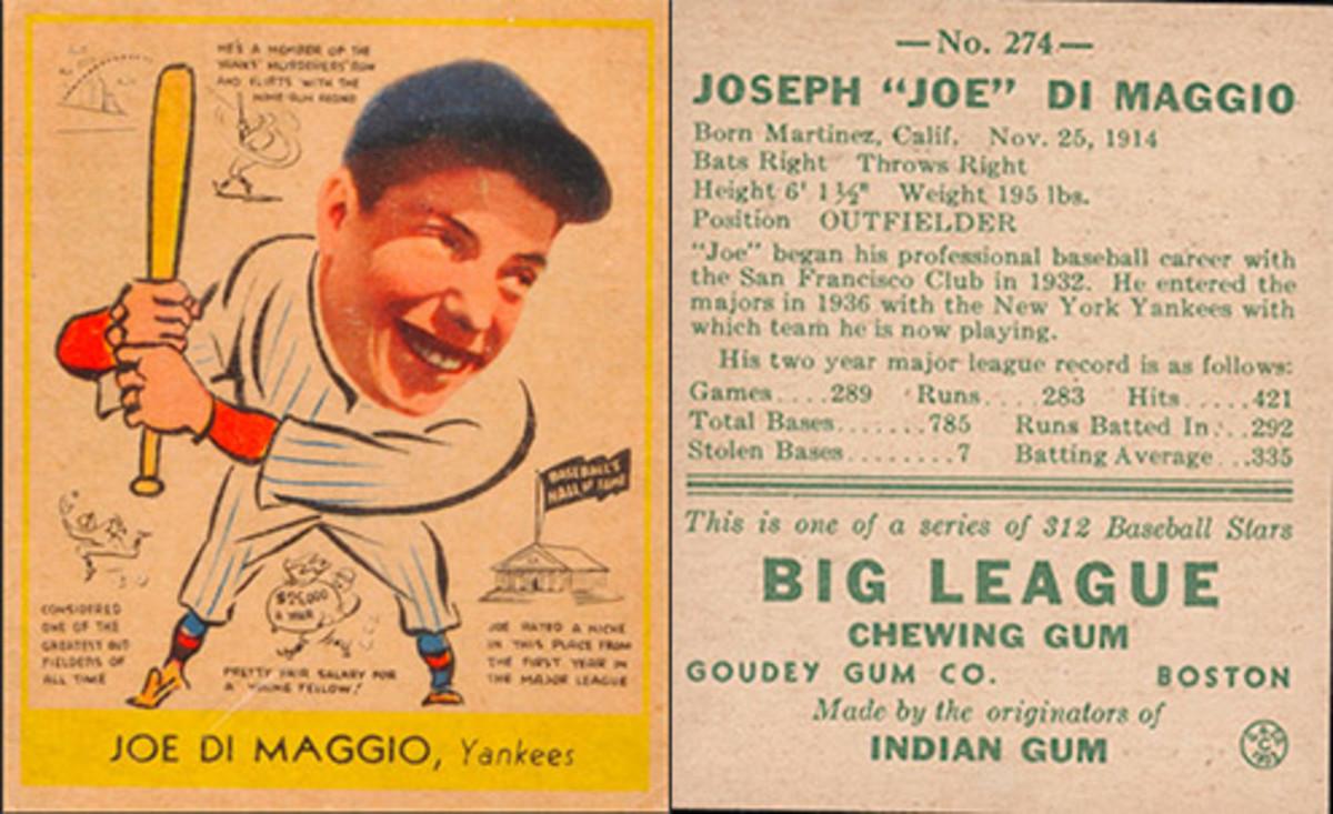Most Valuable Baseball Cards: Joe DiMaggio