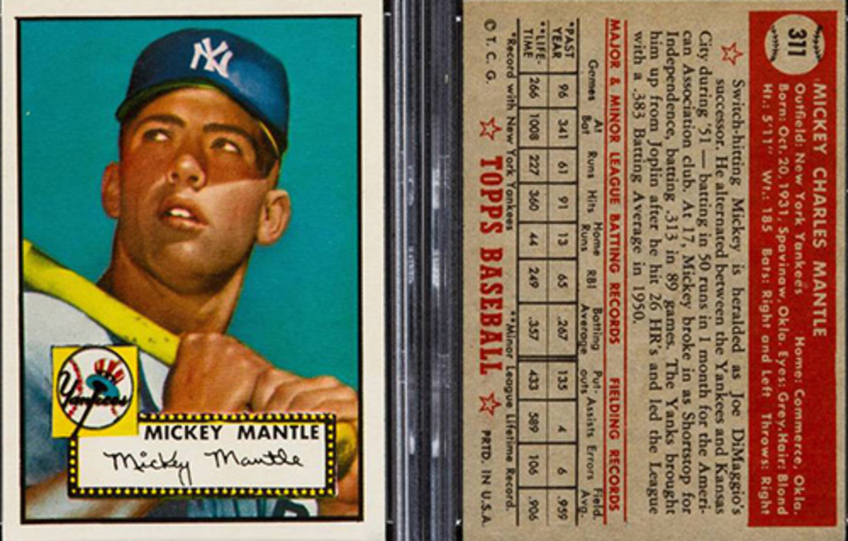Most Valuable Baseball Cards: Mickey Mantle