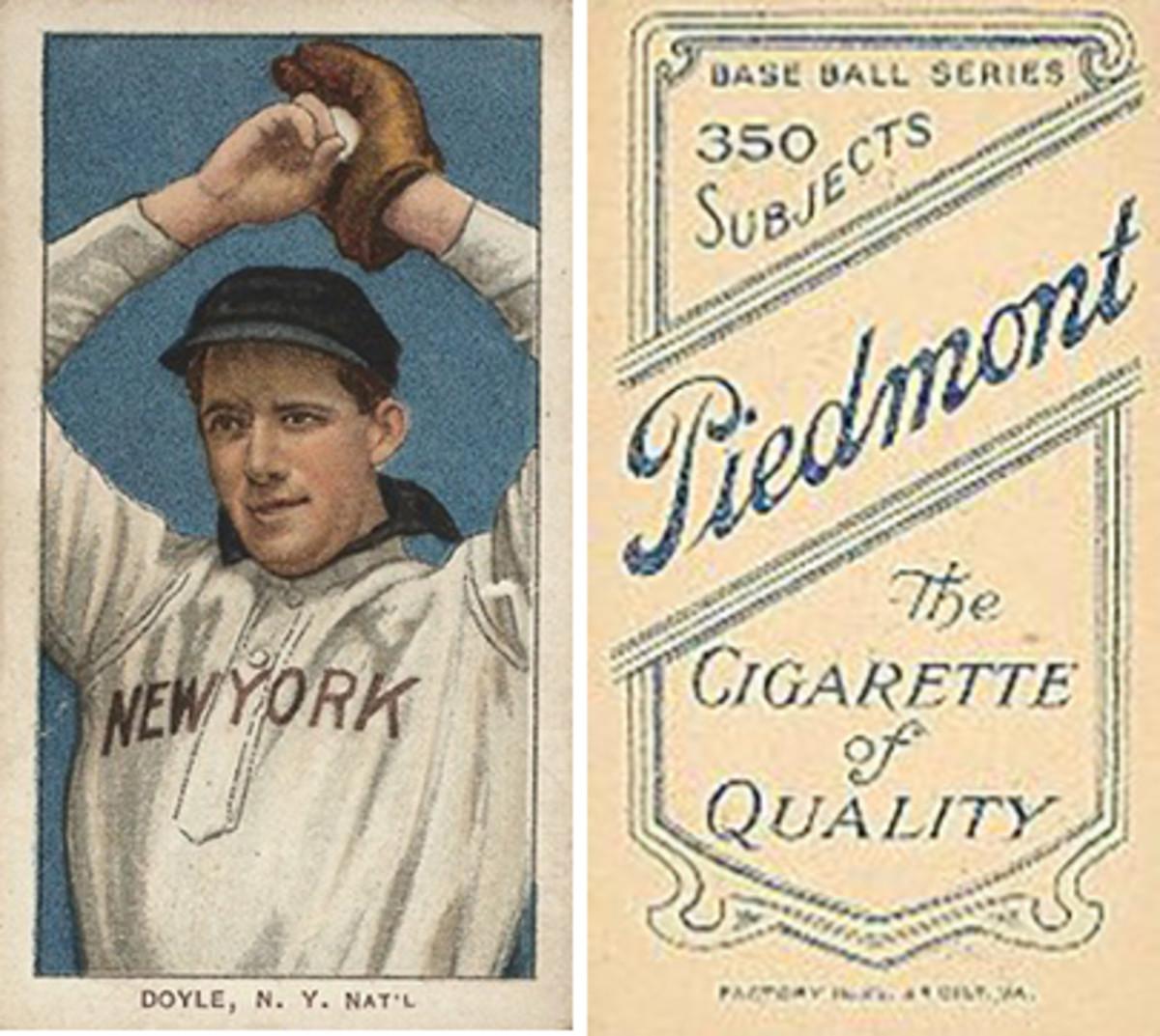 Most Valuable Baseball Cards: Doyle