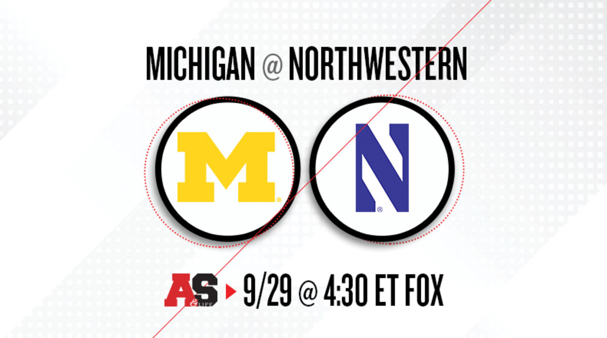 Michigan Wolverines vs. Northwestern Wildcats Prediction and Preview