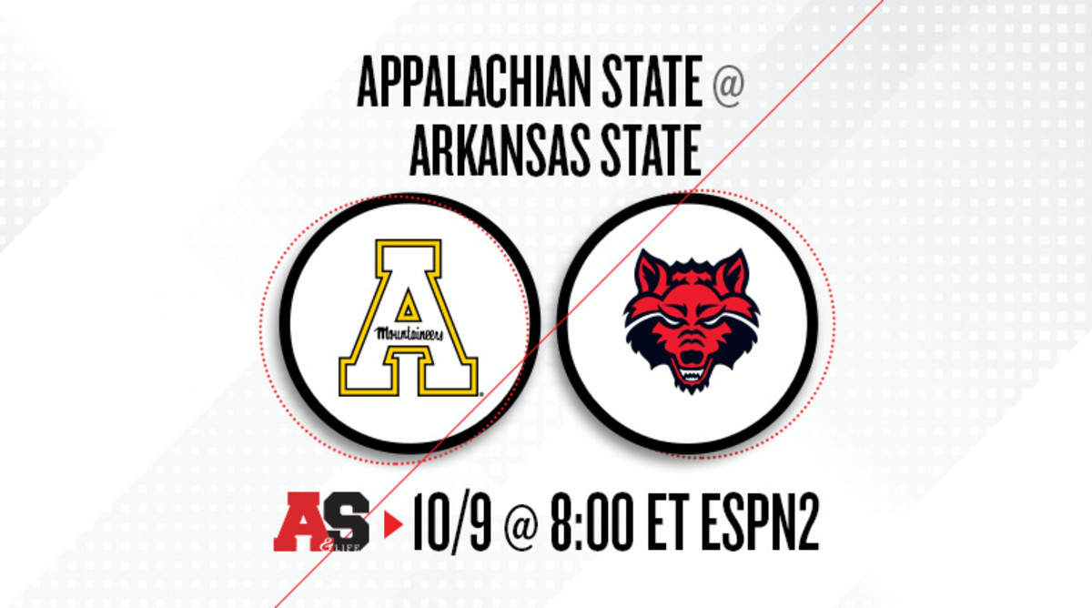 Appalachian State Mountaineers vs. Arkansas State Red Wolves Prediction and Preview
