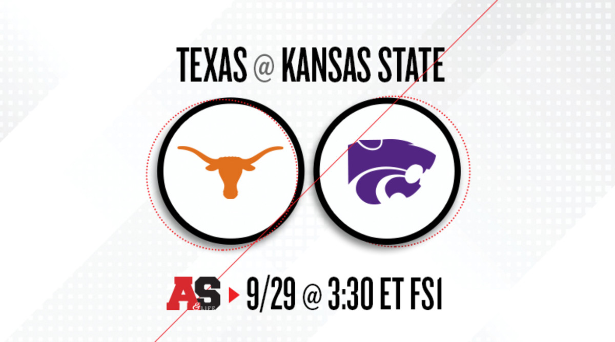 Texas Longhorns vs. Kansas State Wildcats Prediction and Preview