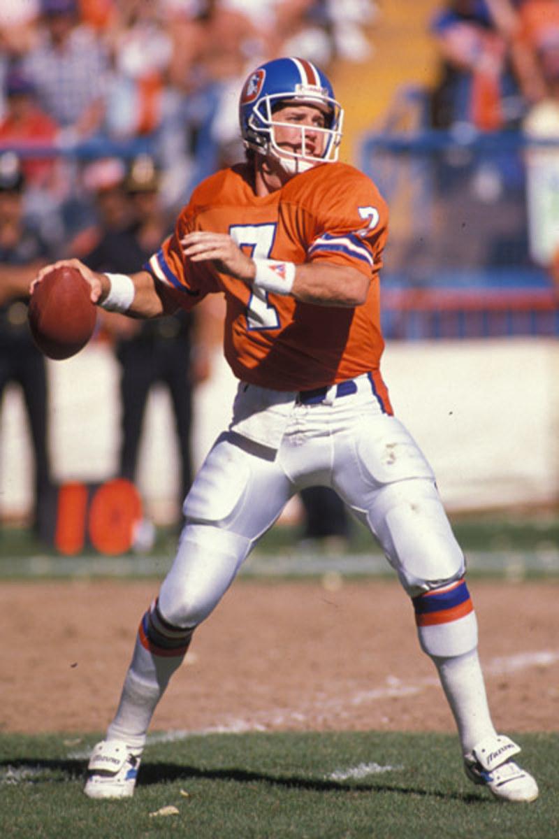 Denver Broncos QB John Elway