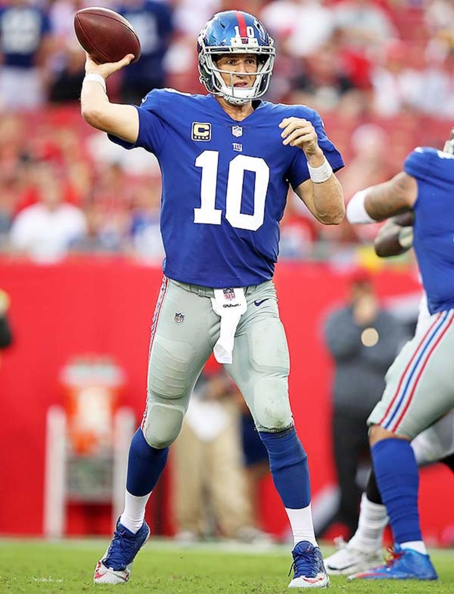 Eli Manning: Quarterback Rankings Week 16