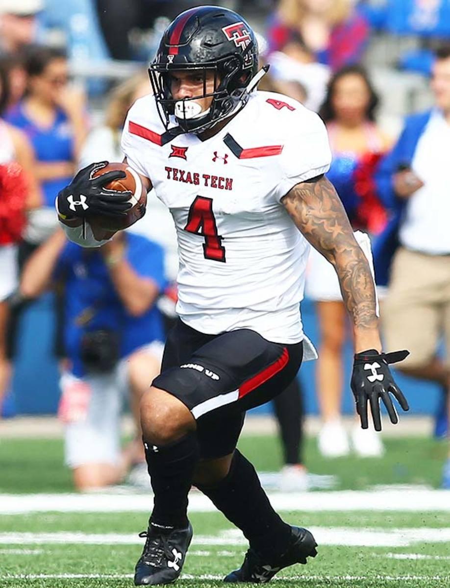 Texas Tech Red Raiders RB Justin Stockton