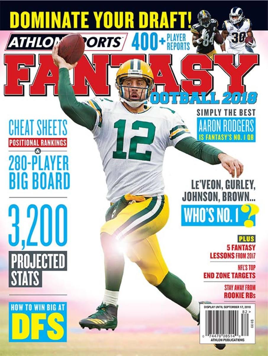 Athlon Sports 2018 Fantasy Football Magazine