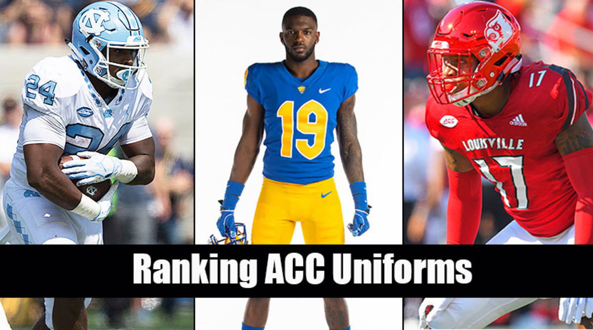 Which ACC football teams have the best uniforms?