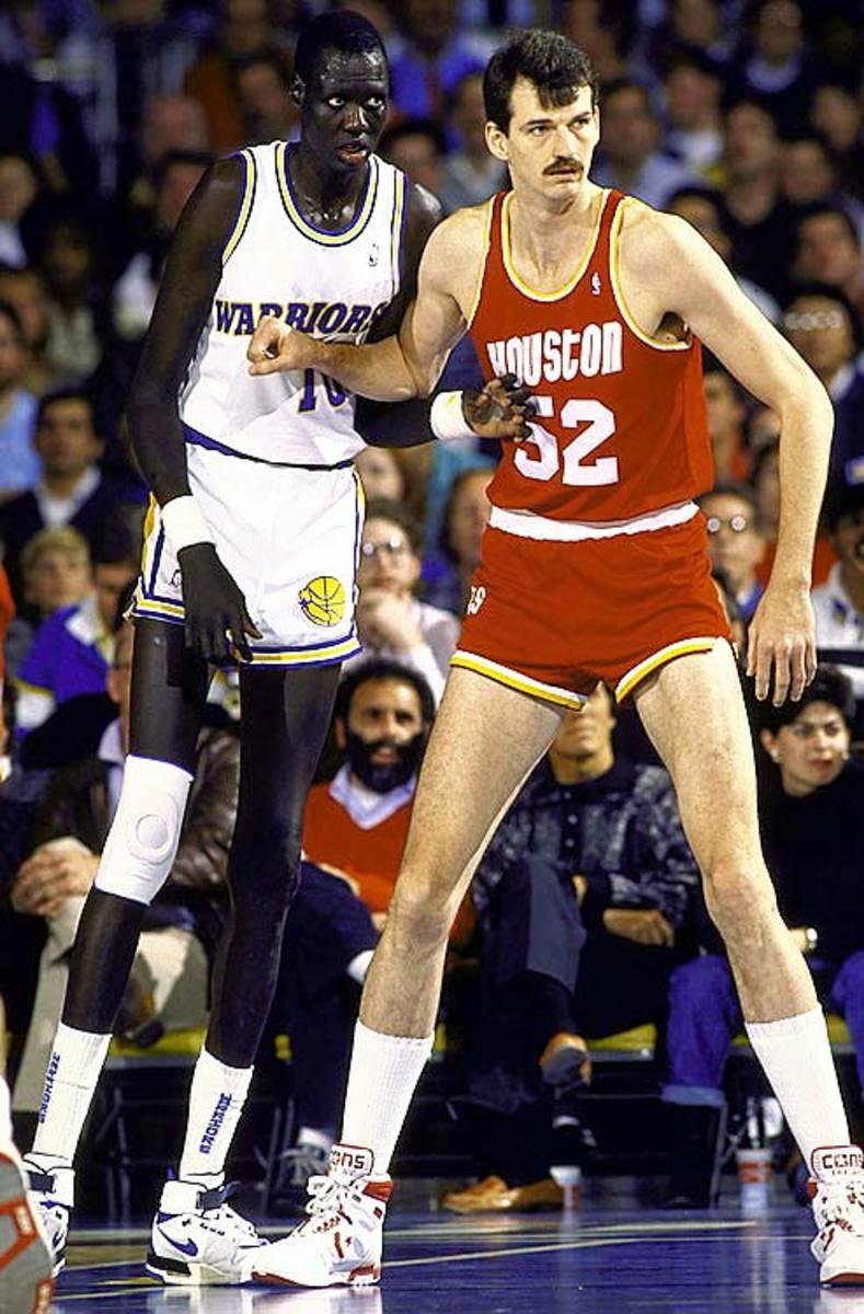 Tallest NBA Players: Chuck Nevitt