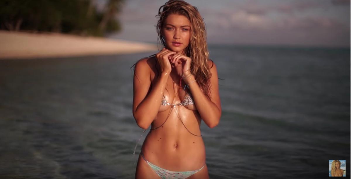 Gigi Hadid Swimsuit Video