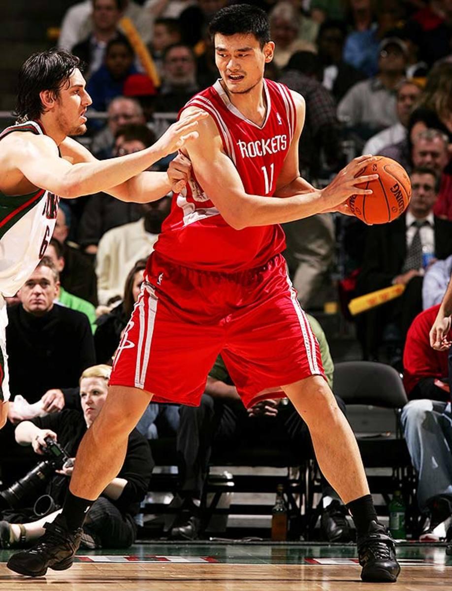Tallest NBA Players: Yao Ming