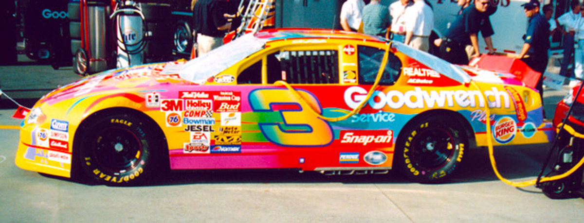 10 Worst NASCAR Paint Schemes of All-Time