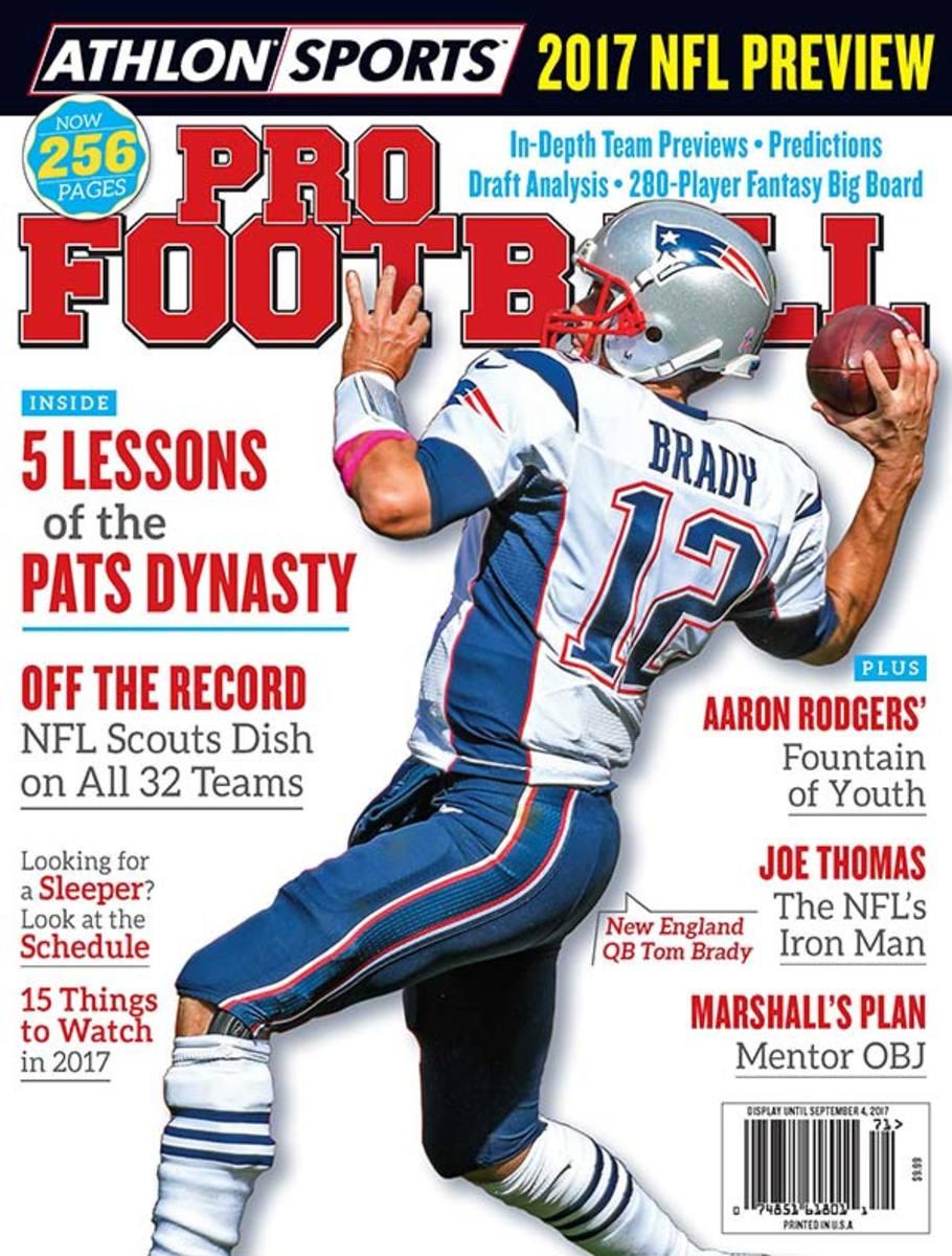 Athlon Sports' 2017 Pro Football Magazine
