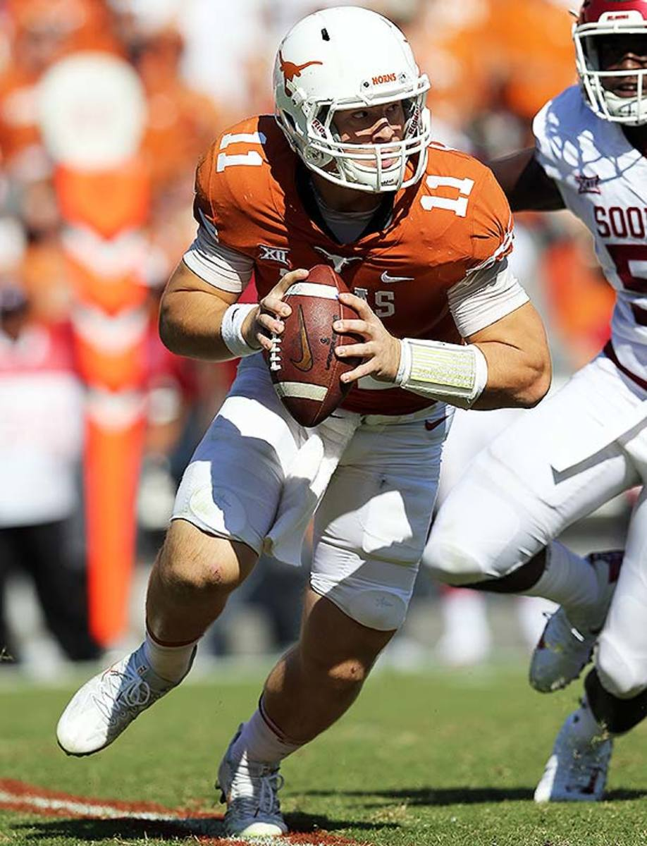 Texas Longhorns QB Sam Ehlinger
