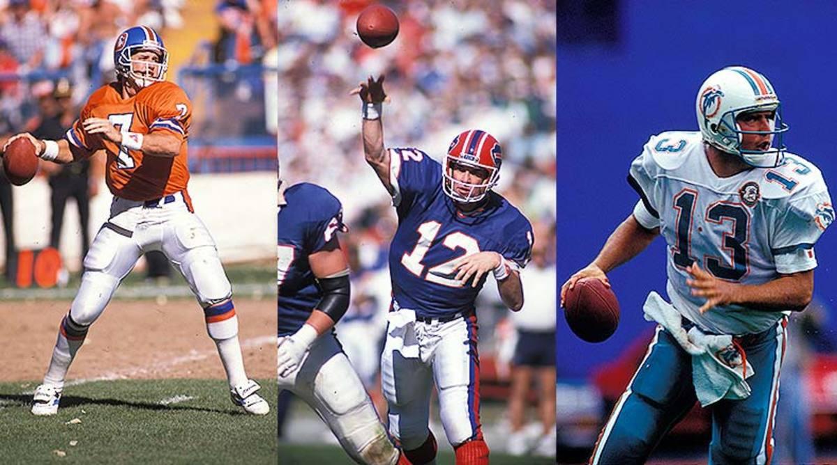 John Elway, Jim Kelly, Dan Marino - 1993 NFL Draft