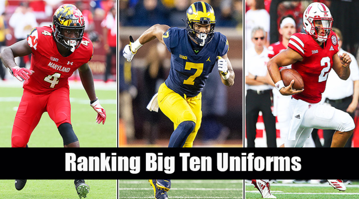 Big Ten Football: Ranking 2019 Uniforms
