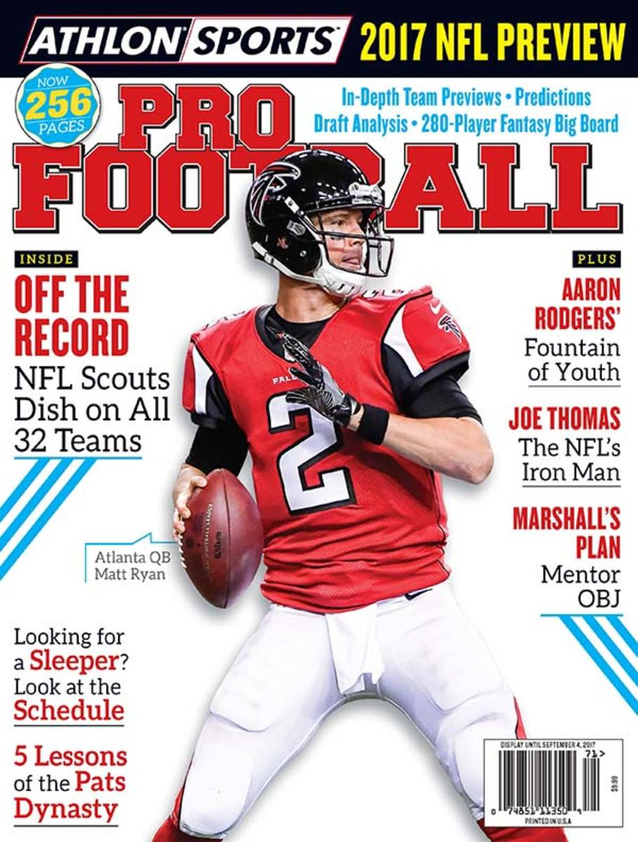 2017 Athlon Sports Pro Football Magazine