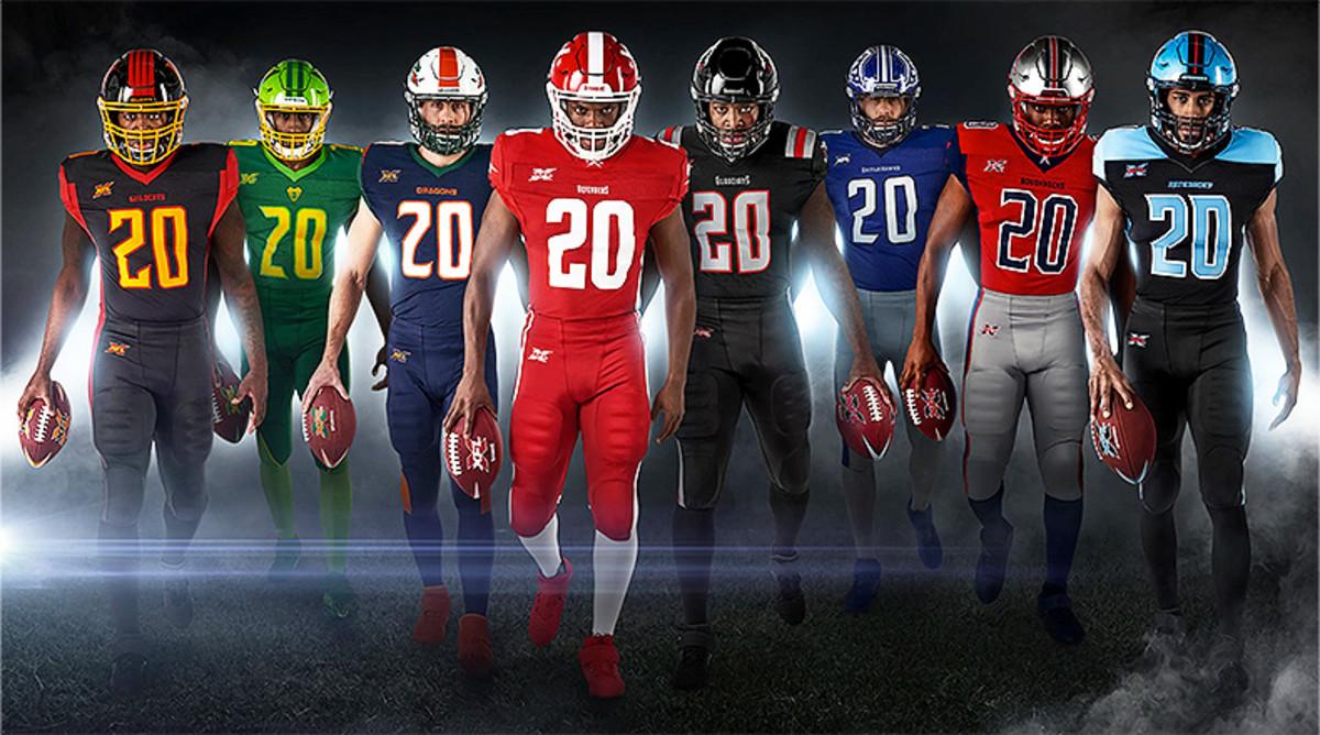 XFL Football: Ranking the Uniforms
