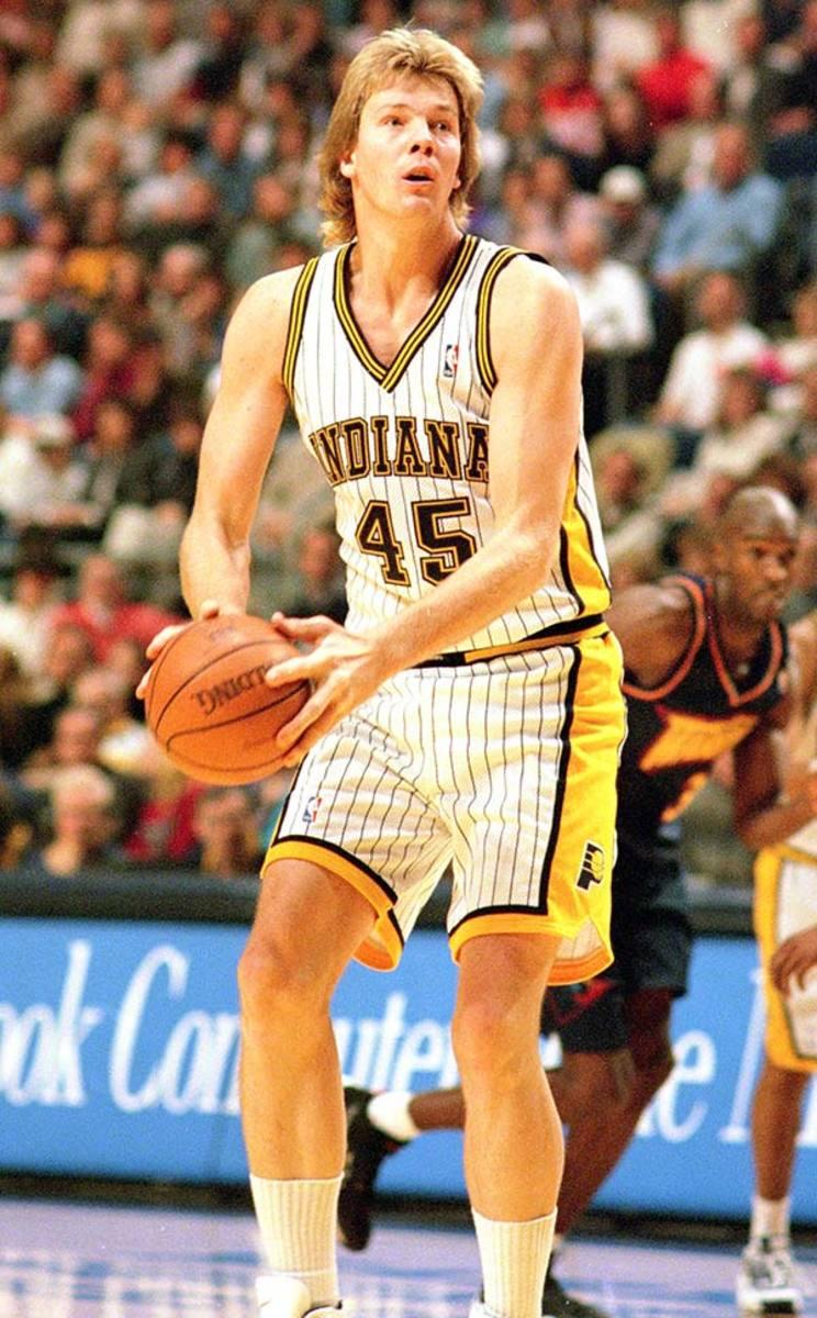 Tallest NBA Players: Rik Smits