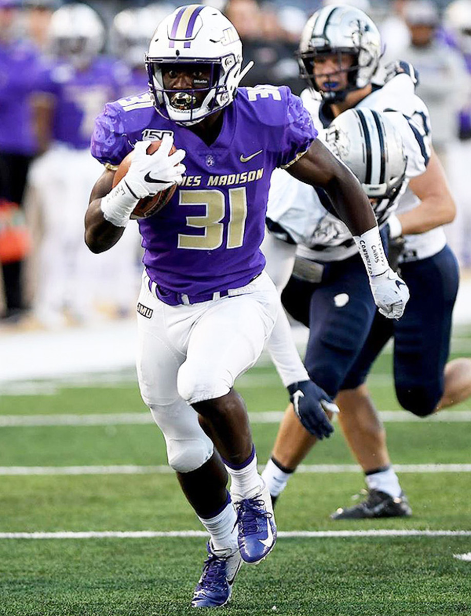 Percy Agywei-Obese, RB, James Madison Dukes