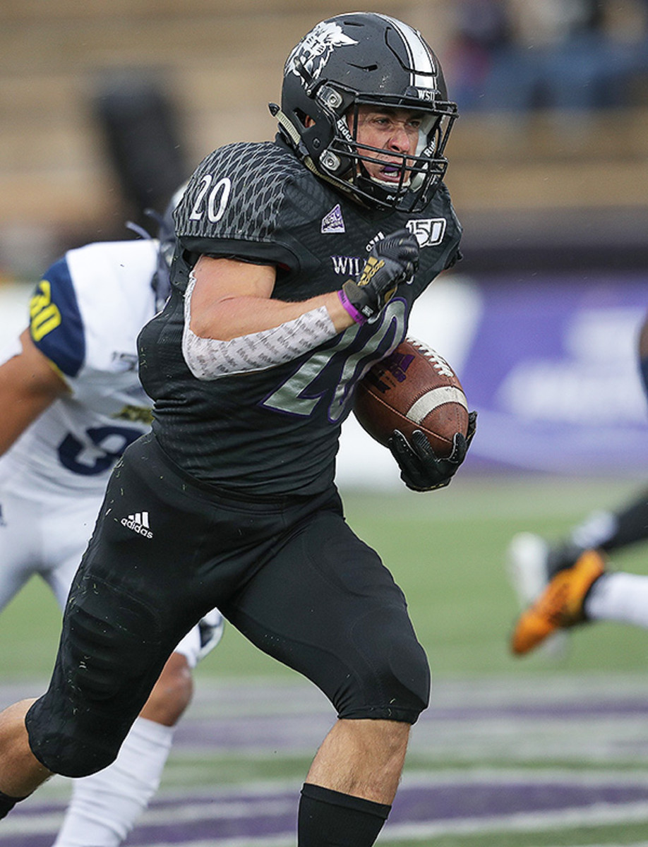 Josh Davis, RB, Weber State Athletics