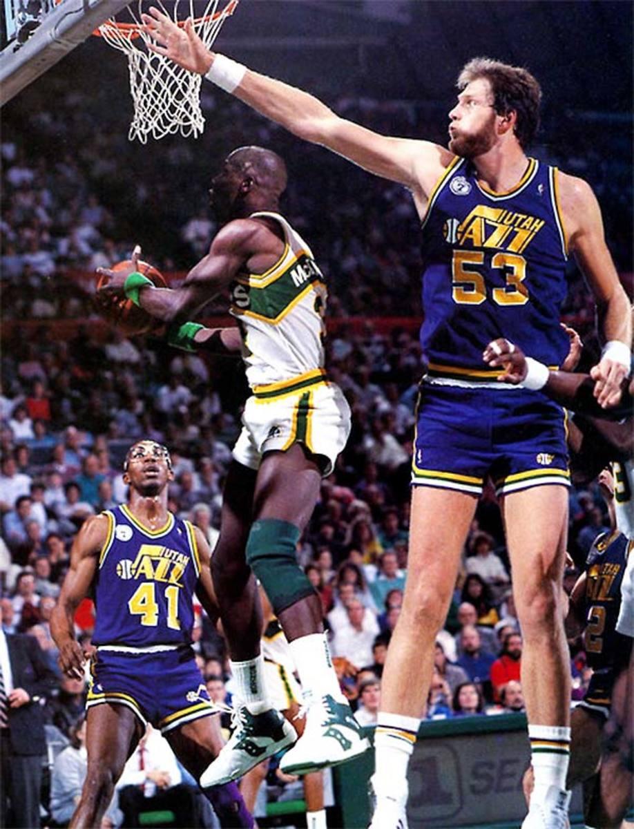 Tallest NBA Players: Mark Eaton