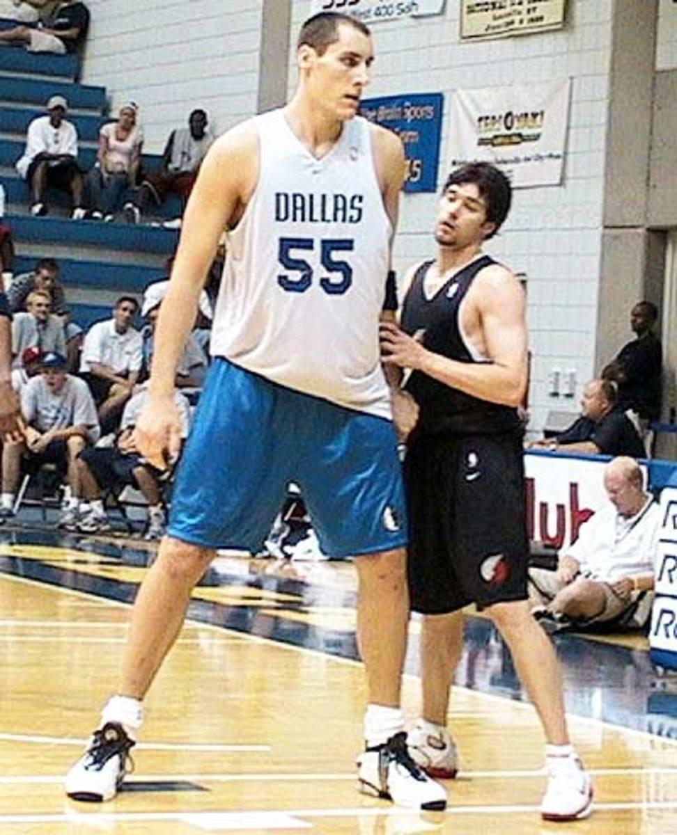 Tallest NBA Players: Pavel Podkolzin