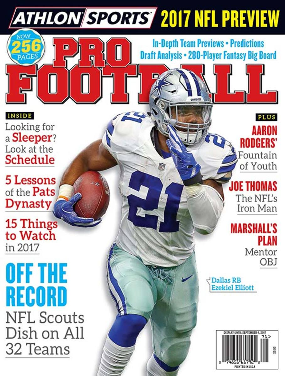 Athlon Sports 2017 NFL Preview Magazine