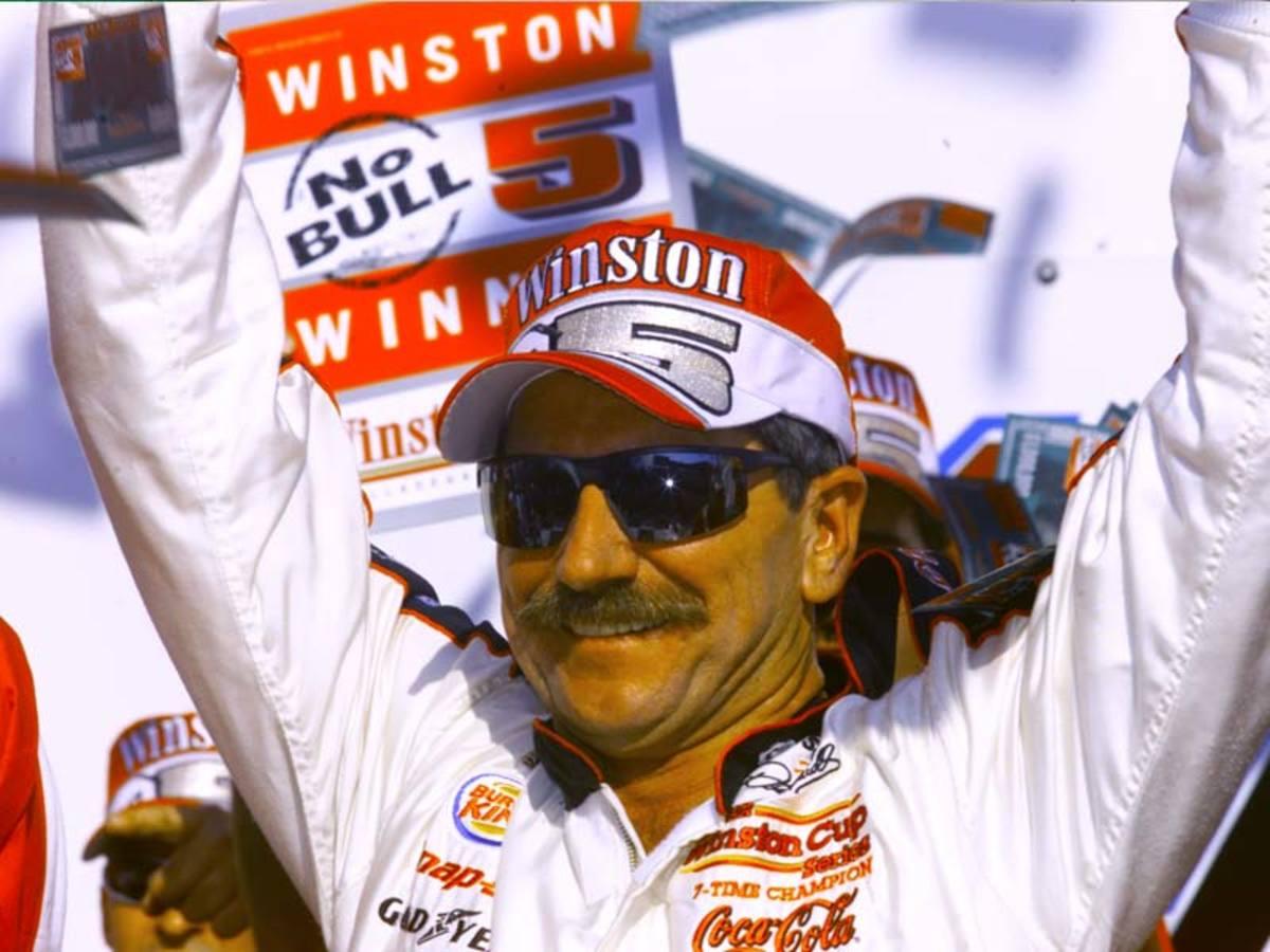 Dale Earnhardt wins Talladega