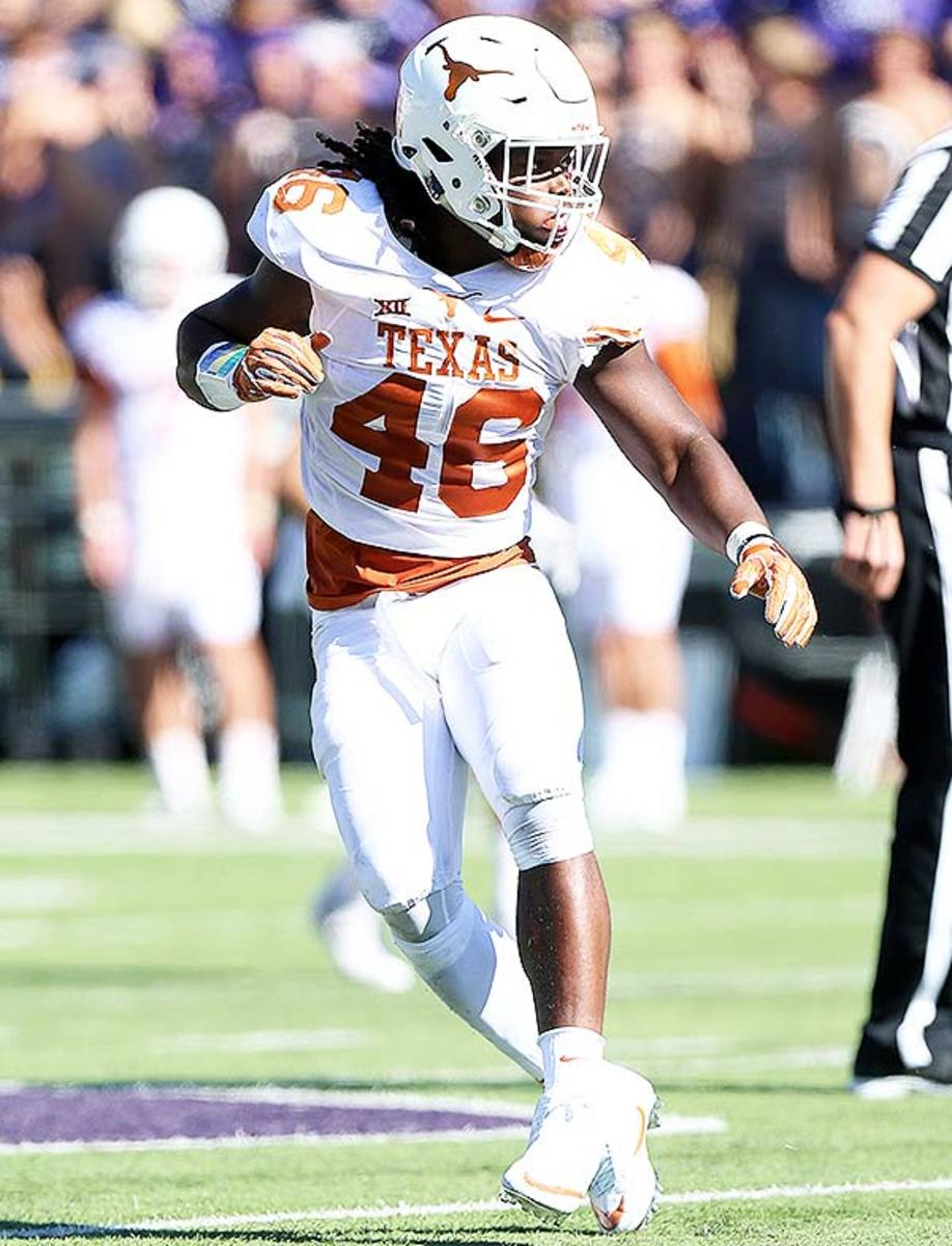 College Football Uniforms: Texas Longhorns
